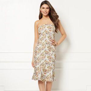 Eva Mendes IVY Floral Sleeveless Dress